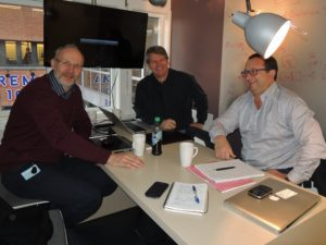 Paal Jahre Nilsen, Cambi AS, Rune Ingels, N2 Applied AS and Ferdinand Stempfer, SBI GmbH - the prototype testing team